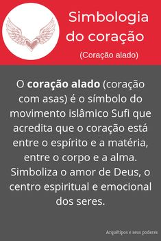 Coração alado Good Vibes, Zen, Symbols, Tattoo, Words, Natural, Witchcraft Symbols, Trivia Of The Day, Spirit Science