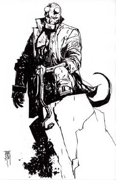 Hellboy by Alex Maleev