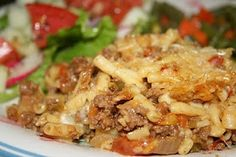 Deep South Dish: Ground Beef Mac and Cheese Casserole
