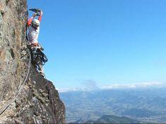 rock climbing - Pico da Neblina