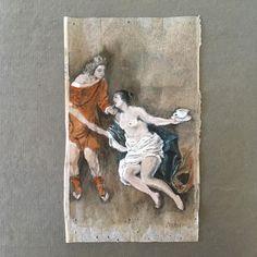 The third and final entry to the 2017 International Rijksstudio Award based on Ferdinand Bol's 'Venus en Adonis'. #rijksstudio #rijksmuseum #coffeeteaorme #recycledart #theafterlifeofdiscardedobjects