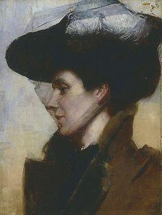 Eileen, 1892 by Tom Roberts. National Portrait Gallery, Figure Painting, Australian Art, Illustration Art, Portrait Painting, Portrait Art, Australian Painters, Portrait Gallery, Portraiture Painting