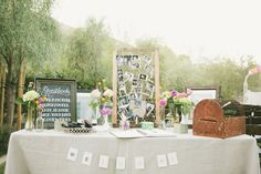 """picture board...frame & chicken wire - only for guest """"suggestions"""""""