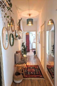Home Room Design, Home Interior Design, Interior Decorating, House Design, Small Hallway Decorating, Ikea Interior, Dining Room Design, Kitchen Interior, Home Living Room