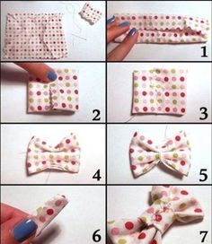hair bows how to make ~ hair bows . hair bows how to make . hair bows diy easy no sew . hair bows diy easy step by step . Diy Hair Bows, Diy Bow, Diy Ribbon, Ribbon Flower, Ribbon Hair, Fabric Crafts, Sewing Crafts, Sewing Projects, Dog Crafts
