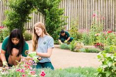 Adventures Behind The Lens:  Gardening Girls