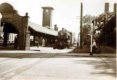 Old Train Station on Grand Avenue in Beloit, WI.
