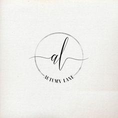 Premade Logo Design | Initials Logo | Photography Logo | Shabby Chic Logo…