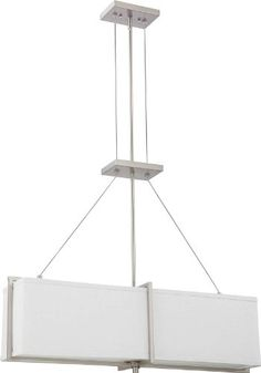 track lighting kits light atg stores. Nuvo Lighting 60/4505 Four Light Logan Pendant With Slate Gray Fabric Shade/Frosted Track Kits Atg Stores