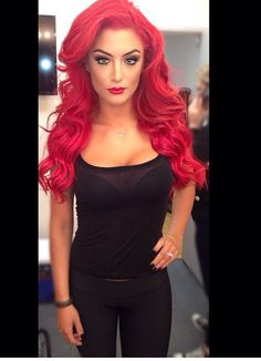 Eva Marie. Black and Red