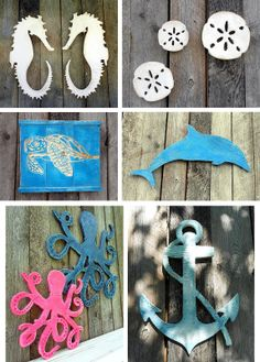 Beau Style Your Places And Spaces: Handcrafted Wood Coastal Sign Decor. Find  This Pin And More On Beach Themed Patio ...