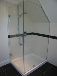 Loft & Sloping Ceiling Showers - Glass360 - Specialist and Bespoke Glass
