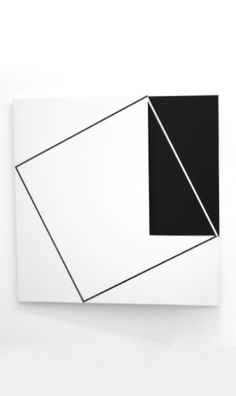 Minimalist Painting, Minimalist Art, Black And White Abstract, White Art, Modern Art, Contemporary Art, Keramik Design, Abstract Geometric Art, Piet Mondrian
