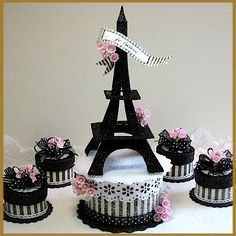 Image detail for -Eiffel Tower Cake Toppers Party Supplies Bolo Fashionista, Parisian Cake, Thema Paris, Bolo Paris, Eiffel Tower Cake, Paris Cakes, Paris Themed Cakes, Paris Birthday, Birthday Cake