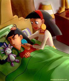 Kuzco and Malina from The Emperor's New School (c) Disney Commissions info: f. Animated Disney Characters, Pixar Animated Movies, Disney Fun, Disney Pixar, Sea Monkeys, Chris Williams, Eartha Kitt, Emperors New Groove, Cool Cartoons