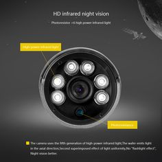 GADINAN IP Camera H.265 HEVC 2MP/4MP 3516D 2560*1440 25FPS Onvif P2P Outdoor Metal Night Vision Security Camera 48V POE Optional  Price: 55.95 & FREE Shipping  #computers #shopping #electronics #home #garden #LED #mobiles #rc #security #toys #bargain #coolstuff |#headphones #bluetooth #gifts #xmas #happybirthday #fun Ip Camera, Security Camera, Night Vision, Flashlight, Mobiles, Cameras, Computers, Bluetooth, Headphones