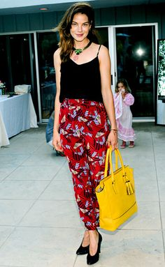 Michelle Monaghan held on to Coach's Tanner ($498) in Beverly Hills.