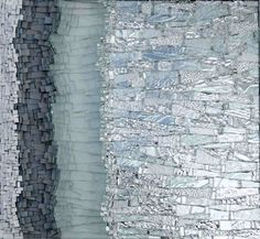 33F, by Kelley Knickerbocker, 2007, 17 in. h x 18.5 in. w; glass, mirror, smalti.