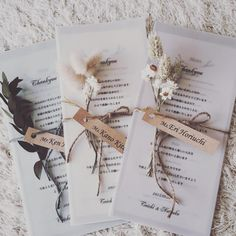 Spring wedding invitation with real flowers rustic country wedding ideas vellum translucent transparent wedding invites Wedding Paper, Wedding Table, Wedding Cards, Diy Wedding, Wedding Ideas, Wedding Flowers, Rustic Wedding Menu, Wedding Inspiration, Formal Wedding
