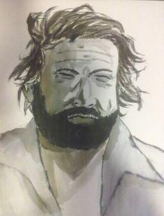 Bud Spencer Illustration