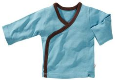 Babysoy Baby Boys Kimono Layering Top Ocean  03 Months -- You can get additional details at the image link. (This is an affiliate link)
