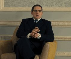 "Tom Hardy as Ronnie Kray in ""Legend"""