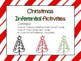 Christmas Inference and Problem Solving Activities product from Speech-Peeps on TeachersNotebook.com