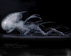 Earlier today we posted some Alien: Covenant concept art that Wayne Haag shared (with more on the way), now we have a bulk load of creature concept artwork from Carlos Huante! Huante should be well […]