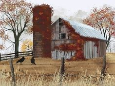 The Old Barn by artist Billy Jacobs