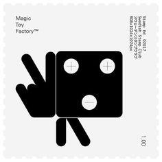 Swedish Stamp Club / Magic Toy Factory / 02017 / Stamp / 2017