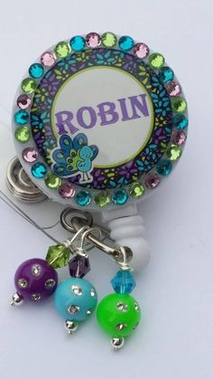 Hey, I found this really awesome Etsy listing at https://www.etsy.com/listing/261200077/nifty-bling-badge-reel-super-cute-bling