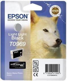 #Tinte #EPSON #C13T09694010   Epson Singlepack Light Black T0969  Light light black Stylus Photo R2880 Tintenstrahl Blister     Hier klicken, um weiterzulesen.  Ihr Onlineshop in #Zürich #Bern #Basel #Genf #St.Gallen