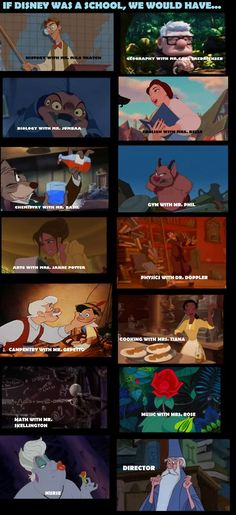 I would definitely go to this Disney school.