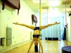 Advanced Pole Trick Tutorial: One arm Scorpio Handstand