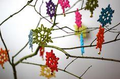 tangled happy: Simple Snowflakes