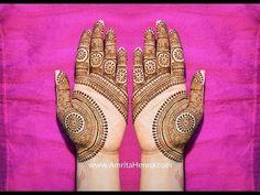 NEW BEAUTIFUL MEHENDI DESIGN FOR HANDS | INDIAN MEHNDI HENNA FOR PALMS - YouTube Mehandi Design For Hand, Palm Mehndi Design, Indian Mehndi Designs, Mehndi Design Pictures, Beautiful Mehndi Design, Mehndi Images, Simple Mehndi Designs, Mehendi Simple, Unique Henna