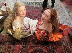 Gulia and Lucrezia, The Borgias.