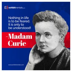 Visit our website: www.exhibitrentals.com Marie Curie was once denied admission into a university because she was a woman. That obviously didn't stop her as she went on to become the 1st woman to be awarded the Nobel Prize in 2 fields of science: Physics and Chemistry! #exhibitrentals, #tradeshowexhibits, #displayrentals, , #boothdesign, #boothdisplay, #customtradeshowdisplays, #tradeshowboothdisplays, #tradeshowboothrental, #tradeshowexhibitcompanies #nobleprize #madamcurie #exhibits