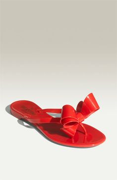 Valentino Bow Thong Sandal.  These will be mine, oh yes, these will be mine!