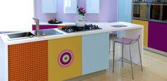 Designfolie für individuelle Küchen - easyDesignfolie vom Profi.  www.monofaktur.de