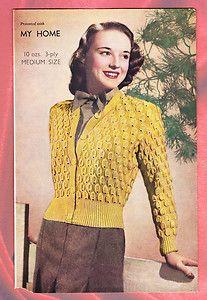 1940 gorgeous fancy stitch.