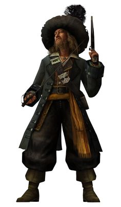 *CAPTAIN BARBOSS ~ Pirates of the Caribbean Pirate Art, Pirate Life, Hector Barbossa, Manga Anime, Pirate Cosplay, Kingdom Hearts Characters, On Stranger Tides, Penelope, Captain Jack Sparrow