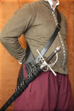 Rapier Baldric : Renaissance Leather, quality hand-crafted leather goods