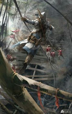 Assassin's Creed III Concept Art - Access the Animus