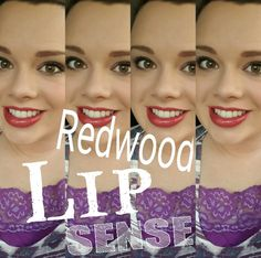 Redwood lipsense Great all day bold  color