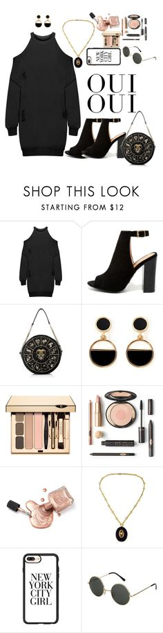 """""""Traveler Sterling"""" by jhendoe on Polyvore featuring WearAll, LULUS, Warehouse, Casetify and Oui"""