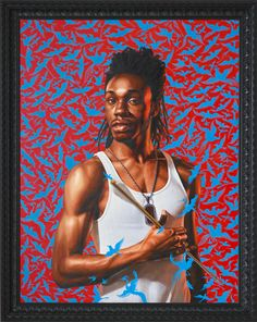Kehinde Wiley  Great way for students to learn about contemporary art, cultural awareness, and connections to classical art