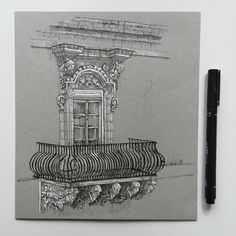 3,735 vind-ik-leuks, 25 reacties - Phoebe Atkey (@phoebeatkey) op Instagram: '#tb ✍️ #art #drawing #pen #sketch #illustration #architecture'