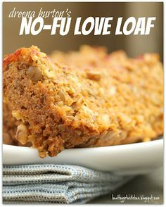 Shocker! My kids are loving this healthy lentil loaf.