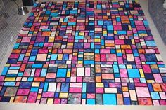 Stained glass tutorial  I want to do this someday!!